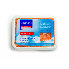 Ікра кети солено-морожена  ТМ Norven 180 г